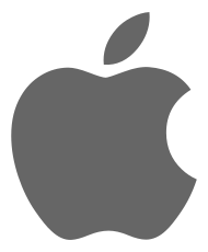 Logo Apple Flat Design