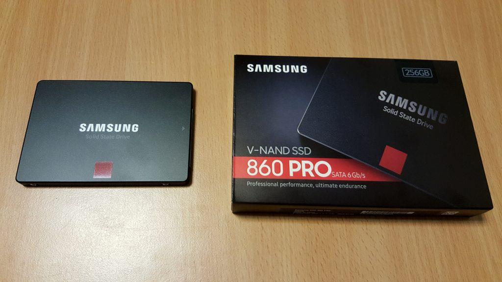 Samsung 860 Pro 256 Go