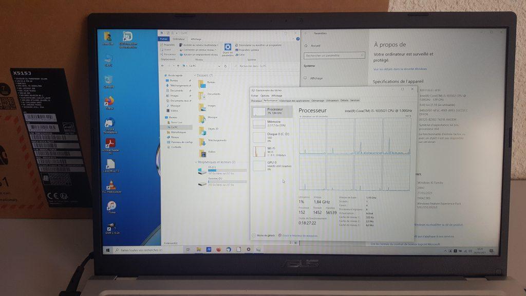 Asus R515JA-BQ127T détails